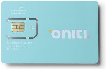 ONITI Tarjeta SIM (Duplicado): Amazon.es: Electrónica