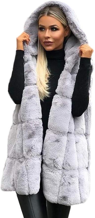 Femmes Manteaux d'hiver À Capuche Nouveau Veste en Fausse