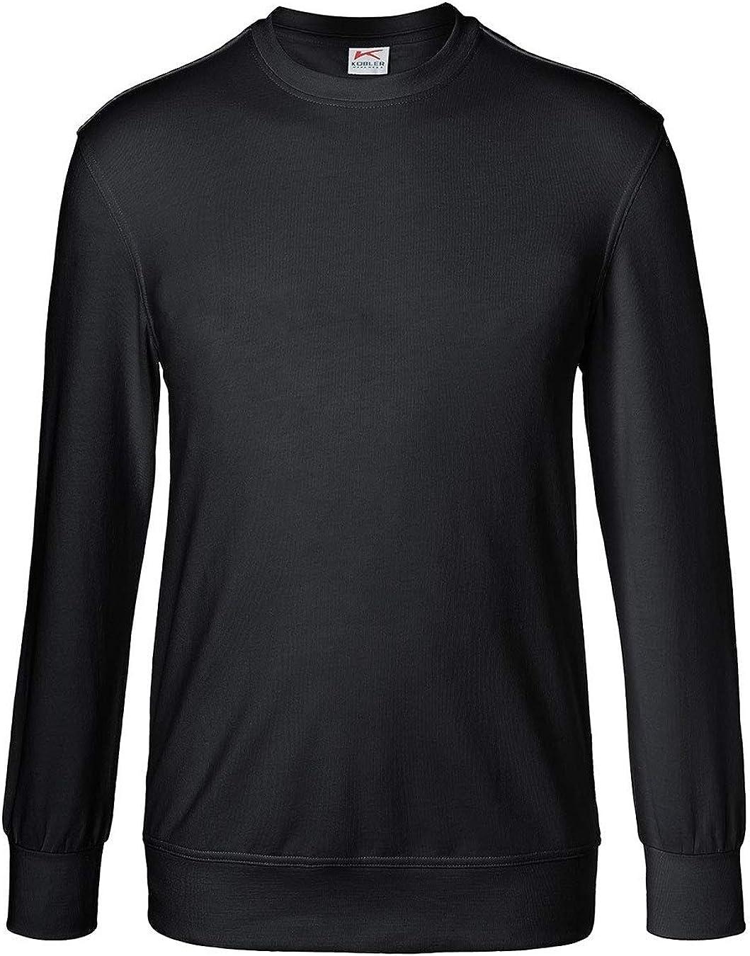 mit Halsb/ündchen und Nackenband K/ÜBLER Shirts Sweatshirt