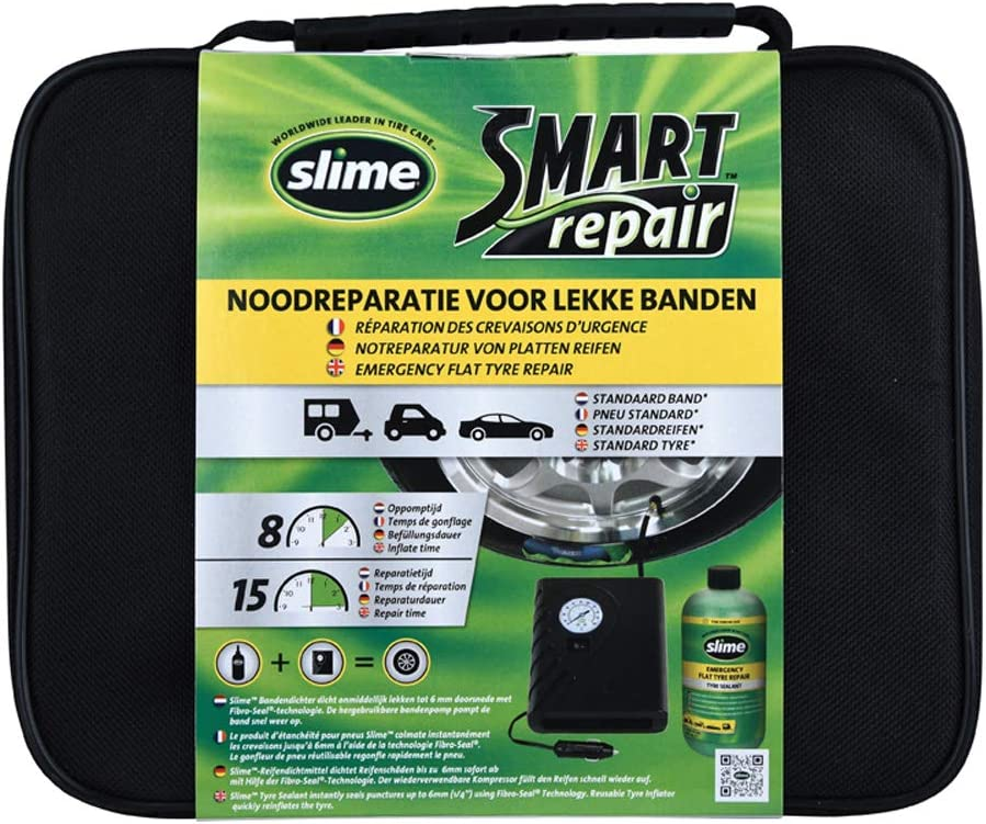 Slime Airkitone Smart Repair Compressor Set 50050 Auto