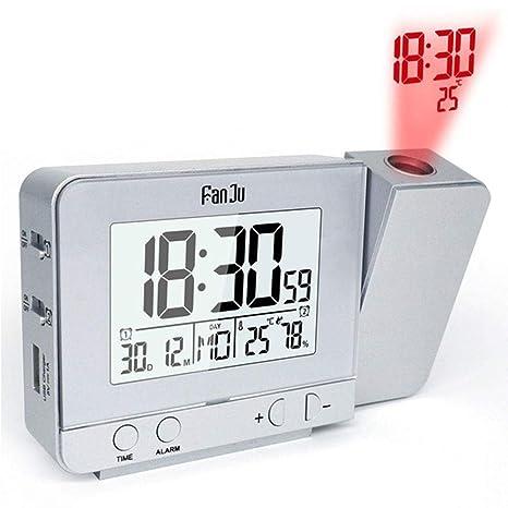 YINGXINXWM Reloj Despertador Digital Electrico Decoración ...