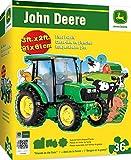MasterPieces John Deere Friends on the Farm - 36 Piece Kids Shaped Floor Puzzle