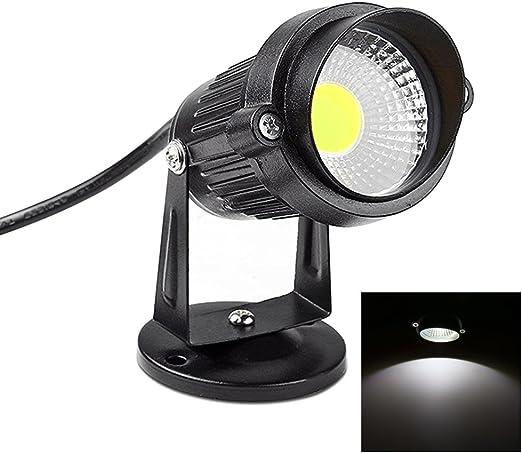 Focos Proyector LED Exterior Jardín 3W/5W 220V (BLANCO Frio): Amazon.es: Iluminación