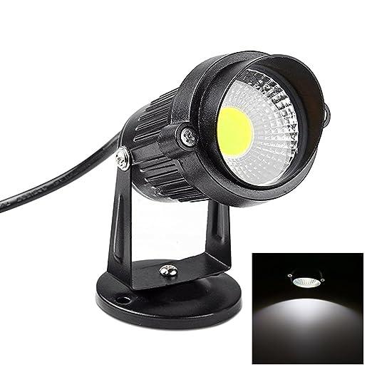 Focos Proyector LED Exterior Jardín 3W/5W 220V (BLANCO Frio ...