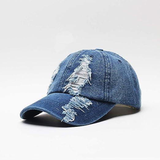 sdssup Sombrero de Pato Vaquero Lady Outdoor Sun Visera Azul ...
