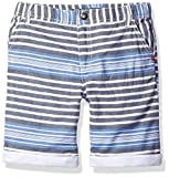 GUESS Little Boys' Cotton Twill Stripe Short