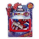 Marvel Official Spider-Man Digital Watch & Wallet Set