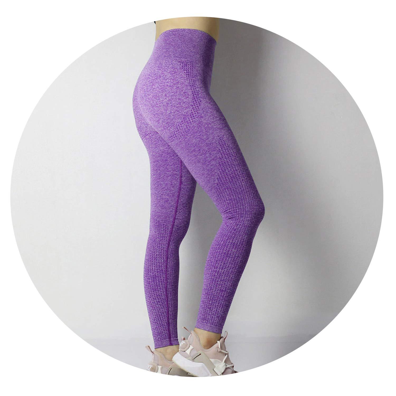 Amazon.com: Gym Tights Tummy Control Yoga Pants High Waisted ...