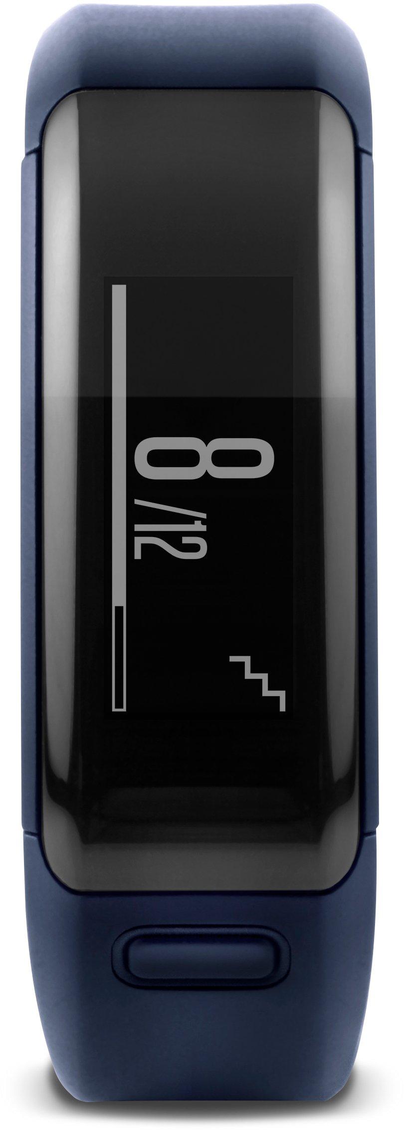 Garmin vívosmart HR Activity Tracker Regular Fit - Midnight Blue (Deep Blue) by Garmin (Image #2)