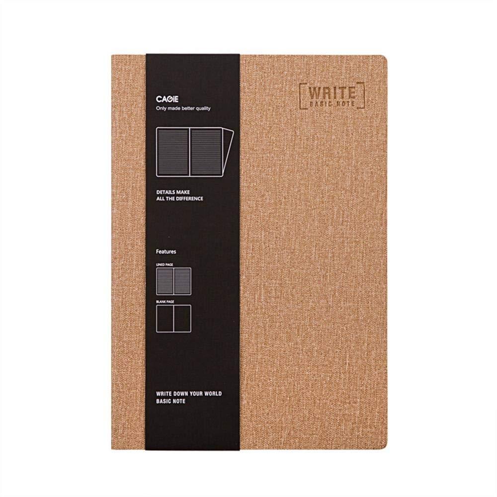 SHIZHESHOP Office Notepad - A5 Hardcover-Notizbuch für Office Office Office Meetting, Cowboy-Kunstleder (Farbe   Khaki) B07NPBYV3S | Sonderaktionen zum Jahresende  | Neu  | Verschiedene  ccd8b1