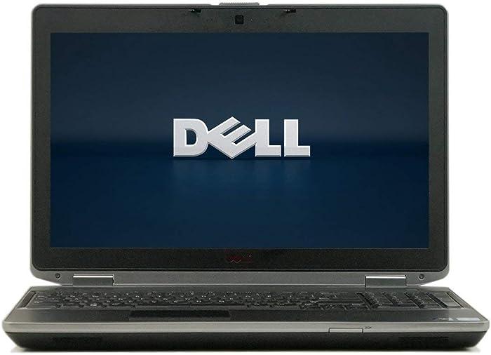 Dell Latitude E6530 15.6in Notebook Intel Core I5-3210M up to 3.1G,DVD,8G RAM,320G HDD,USB 3.0,VGA,HDMI,Win 10 Pro 64 Bit,Multi-Language Support English/Spanish (Renewed)