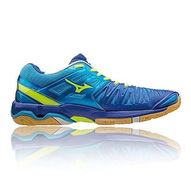 the latest 77b05 01326 Mizuno Wave Stealth 4 Chaussure Sport en Salle - 44  Amazon.fr  Chaussures  et Sacs