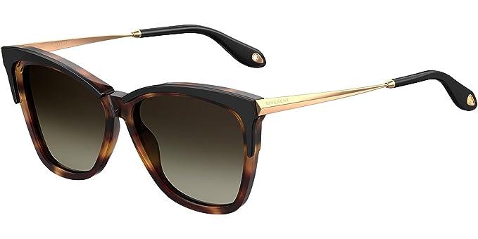 GIVENCHY Givenchy Damen Sonnenbrille » GV 7071/S«, schwarz, WR7/HA - schwarz/braun
