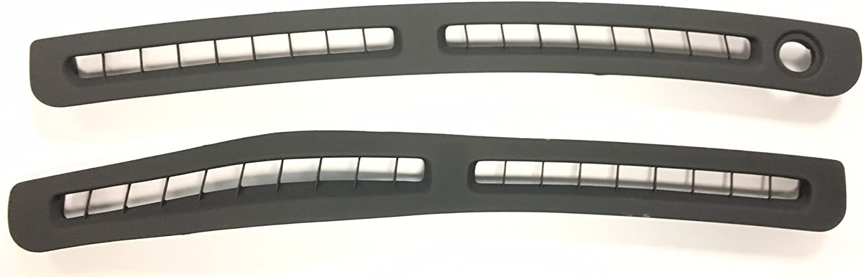 Mitsubishi Genuine Dashboard Defroster Vent Grille Set Right & Left Sides MB766491& MR766489 All 3000GT & Stealth LHD