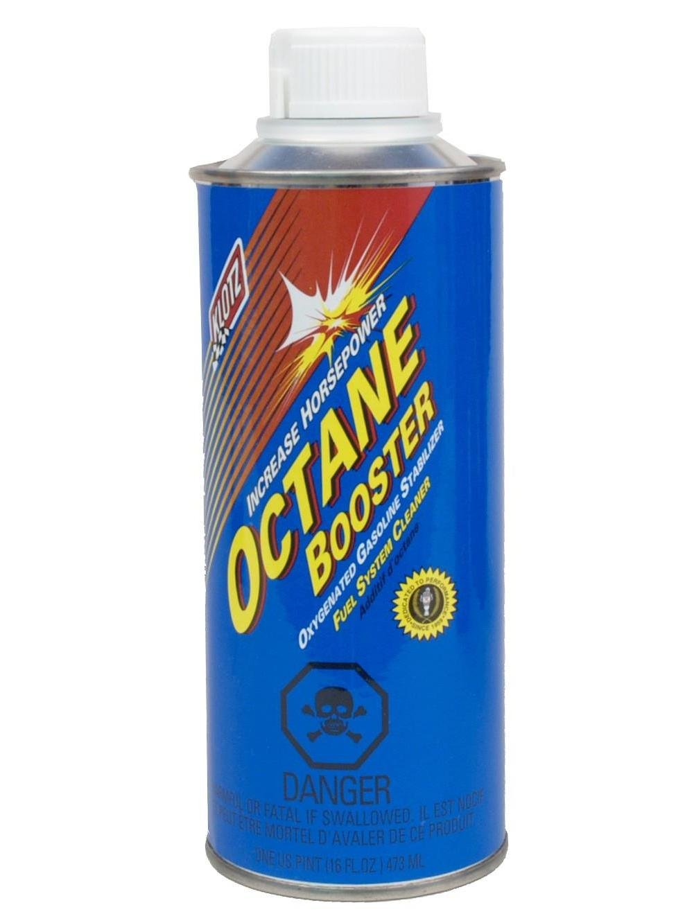 Octane Booster, 16 Ounce Pint Klotz