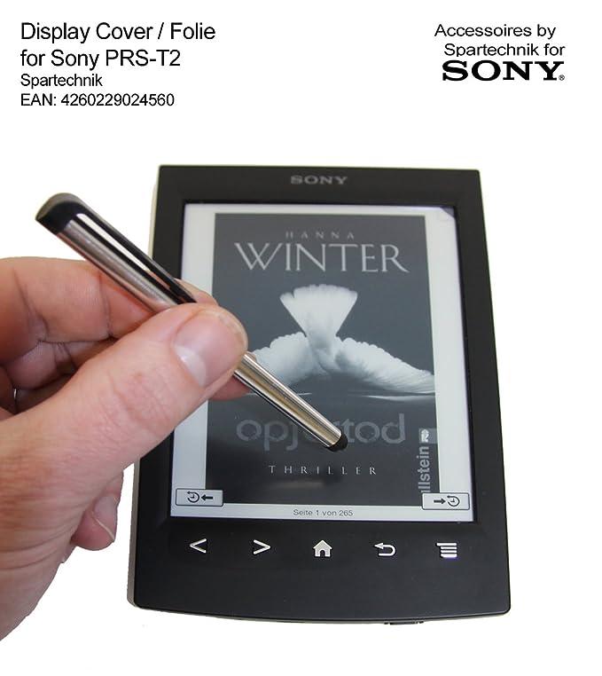 Bundle PRS-T2: Funda con soporte, lápiz y protector de pantalla ...