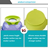 2 Pack Silicone Baby Bowls with Super Suction