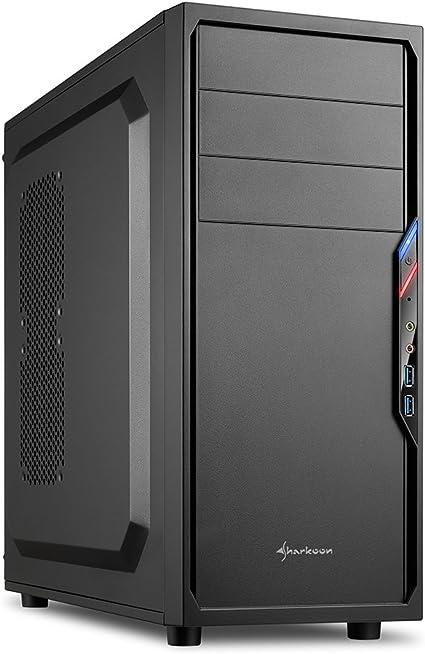 Sharkoon VS4-V - Caja de Ordenador, PC Gaming, Semitorre ATX ...
