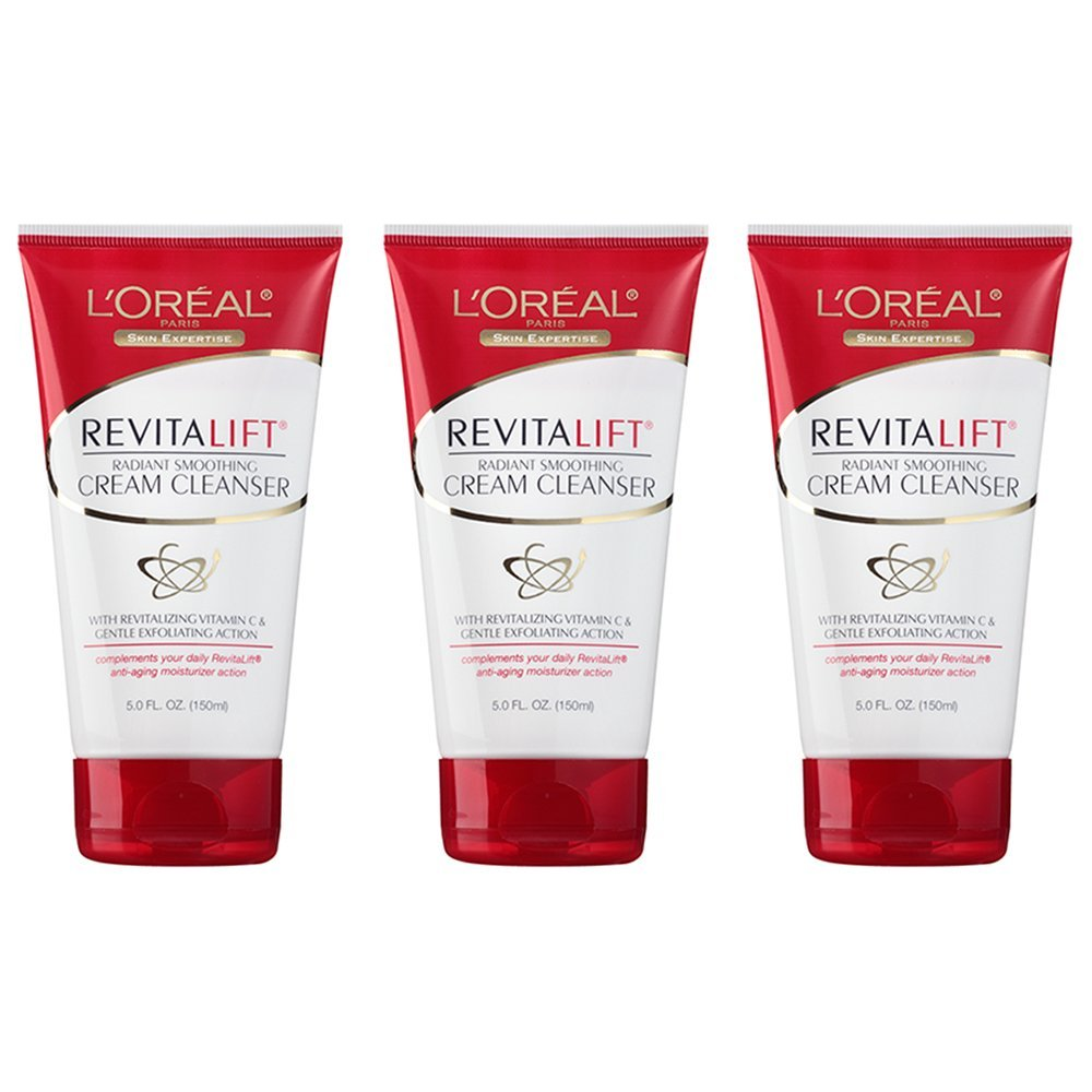 L'Oréal Paris Revitalift Radiant Smoothing Cream Cleanser