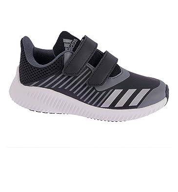 new styles e4869 cf860 adidas Fortarun CF K, Chaussures Multisport Indoor Mixte Enfant, Multicolore -Noir Argent