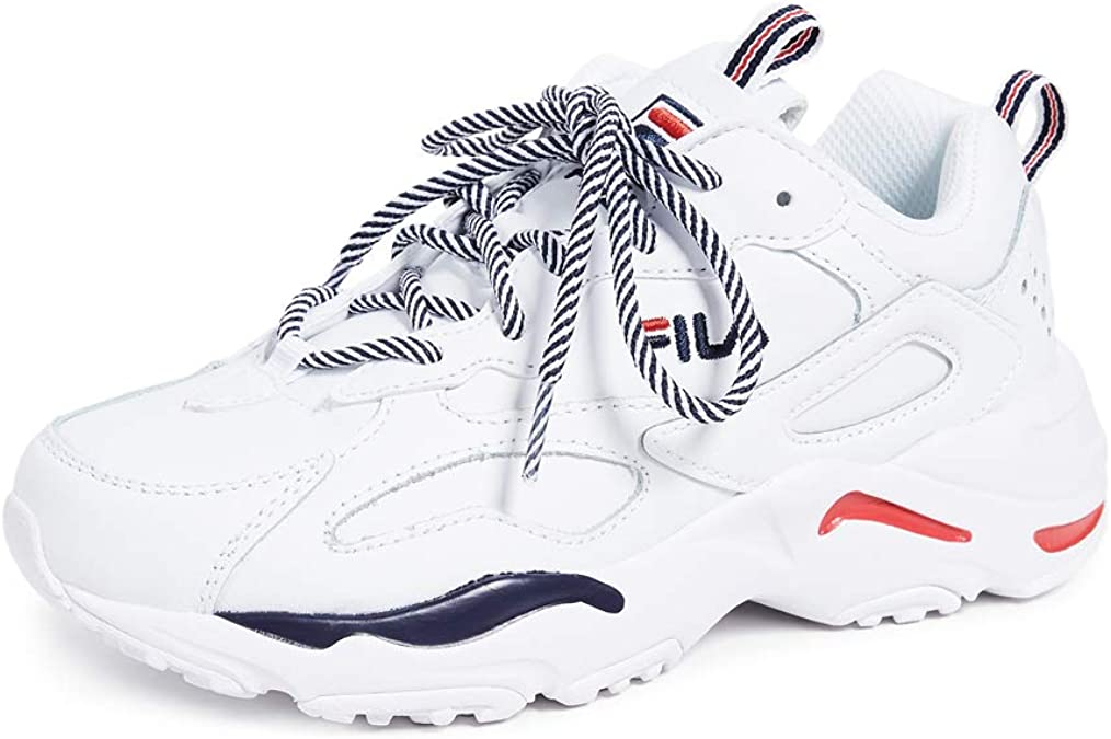 Fila Ray Tracer noire et blanche junior Chaussures Toutes