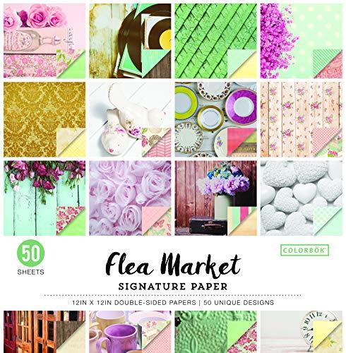 (Colorbok Signature Paper Pad Flea Market 12