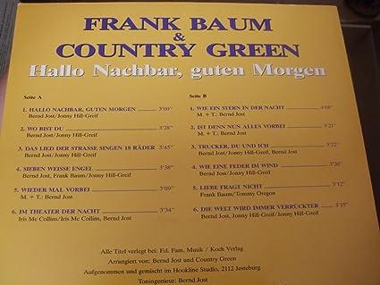 Frank Baum Country Green Hallo Nachbar Guten Morgen