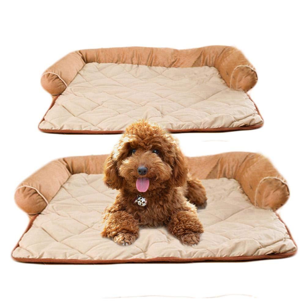 Lucky Family caseta para Animales Invierno cálido y cómodo Perro Gato de compañía Gato Dormir colchón Cama para la casa para Animales: Amazon.es: Hogar