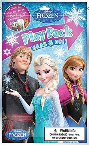 Bendon Publishing Frozen Group Grab n Go Play Packs (12 P...