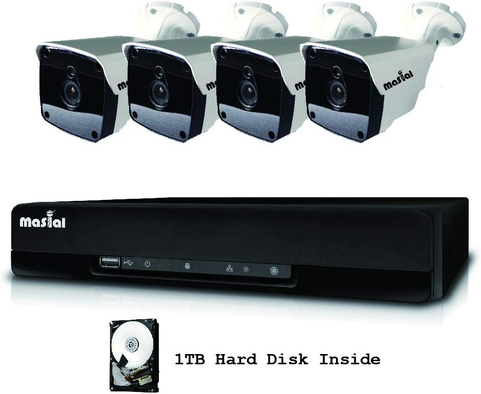 Masial 8CH Home Security Camera System