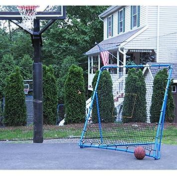 EZGoal Multi-Sport Folding Rebounder Net, 6 x 6-Feet, Blue