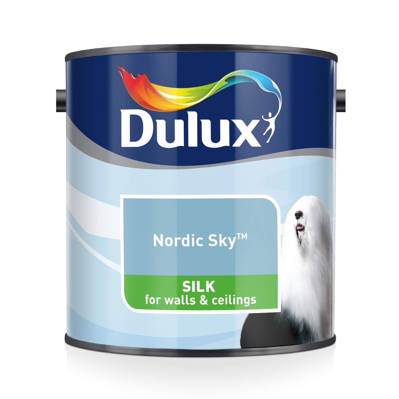 Dulux Violet White Silk 5L