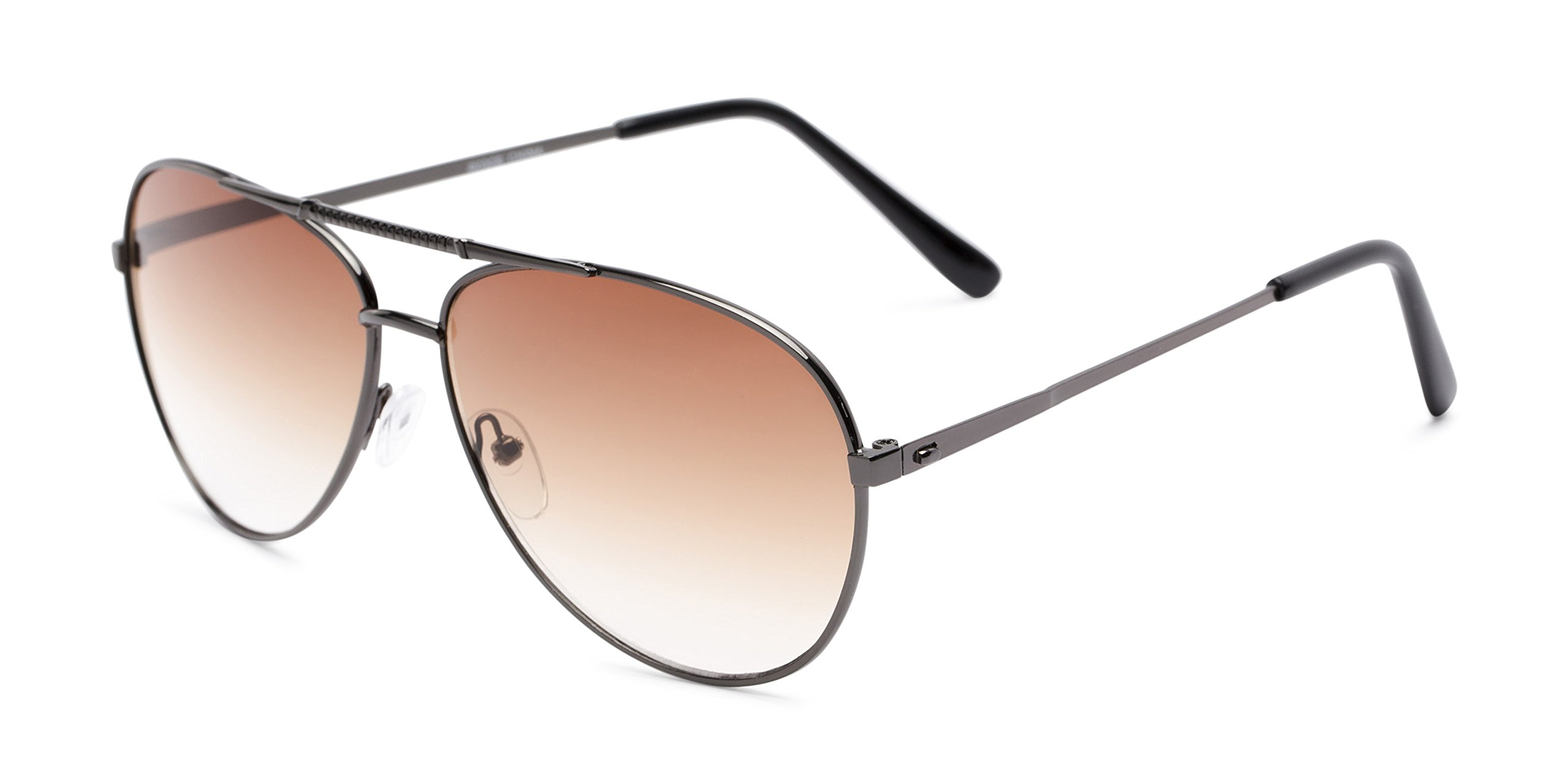 Readers.com   The Conrad Sun Reader +1.50 Grey with Amber Reading Sunglasses