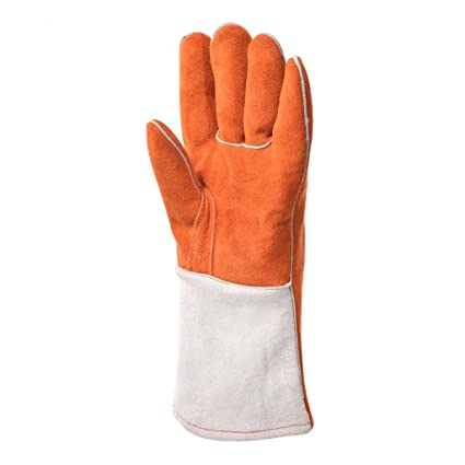 Guantes de soldadura guantes de soldador industriales resistentes al calor y resistentes al calor