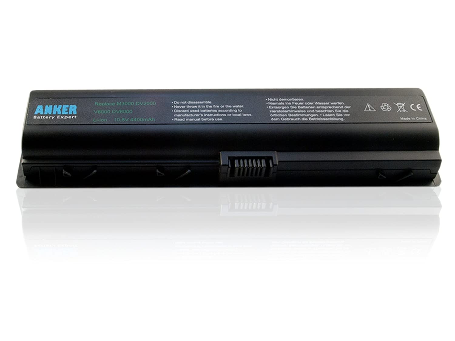 Amazon.com: Anker® New Laptop Battery for HP Presario A900 A910 C700 C714nr  C769us F500 F557us F558us F560 F572us F577 F577Cl F579wm F588 F700 F730  F735 ...