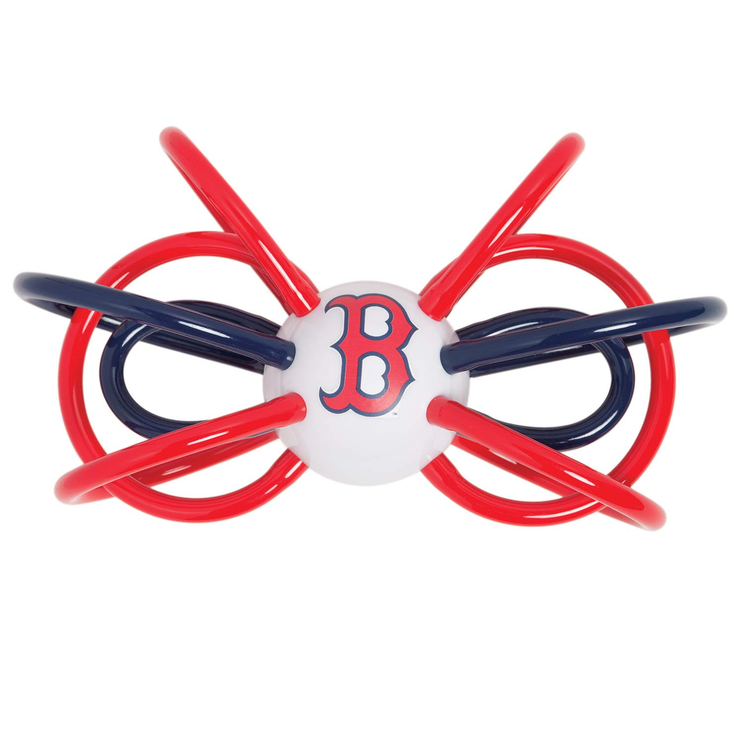 Baby Fanatic Boston Red Sox Winkel Rattle and Teether Officially Licensed MLB Baby Toy