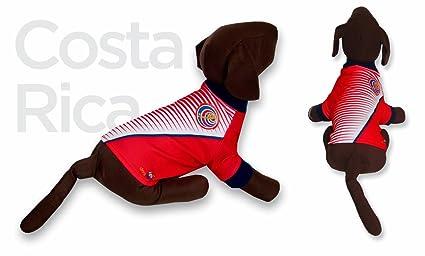 Costa Rica DOG T-Shirt Worldcup Shirt camisetas para perros selecciones futbol soccer (M