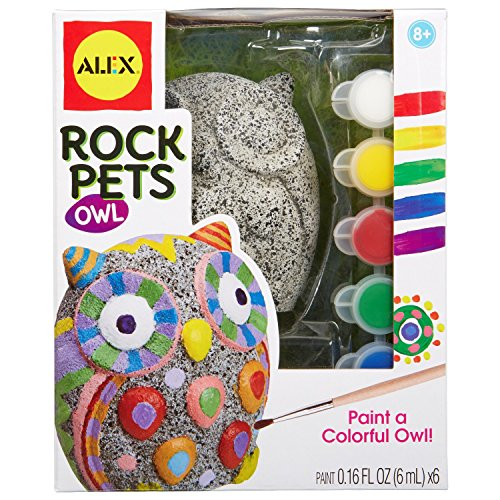 ALEX Toys Craft Rock Pets Owl Craft