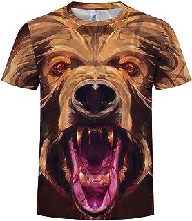 iHENGH 2019 Nuovi Shirt 3D Stampa Sport San Valentino Girocollo Uomo Maniche Corte Shirts Top Bloues Man Cotone Poliestere Shirt Manica Corta Moda Casual Primavera Summer iHENGH - LT.001