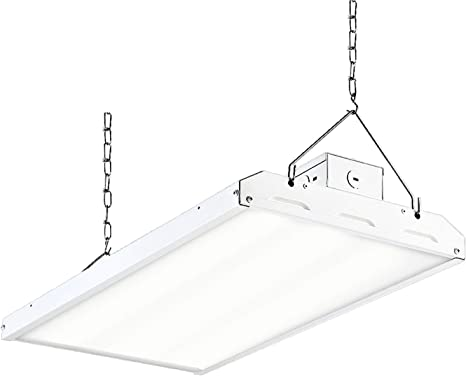 2FT Linear LED High Bay Warehouse Commercial Industrial Light Dimmable Daylight
