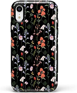 Casely iPhone XR Phone Case - Secret Garden   Mixed Floral Case - 360 Degree Coverage for Your Phone - Precise Cutouts, 1mm Raised Lip Camera Protection - Bold