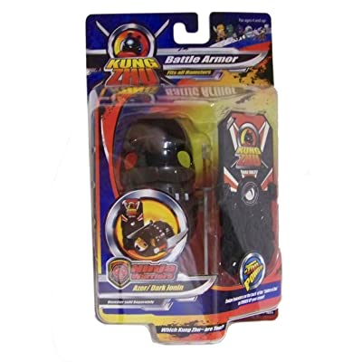 Kung Zhu Pet Ninja Warrior Armor Set Blizzard Genin Hamster NOT Included!: Toys & Games