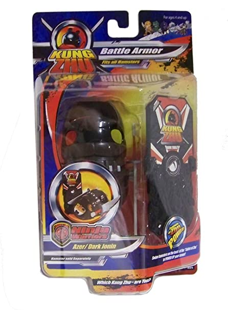 Kung Zhu Pet Ninja Warrior Armor Set Blizzard Genin Hamster NOT Included!