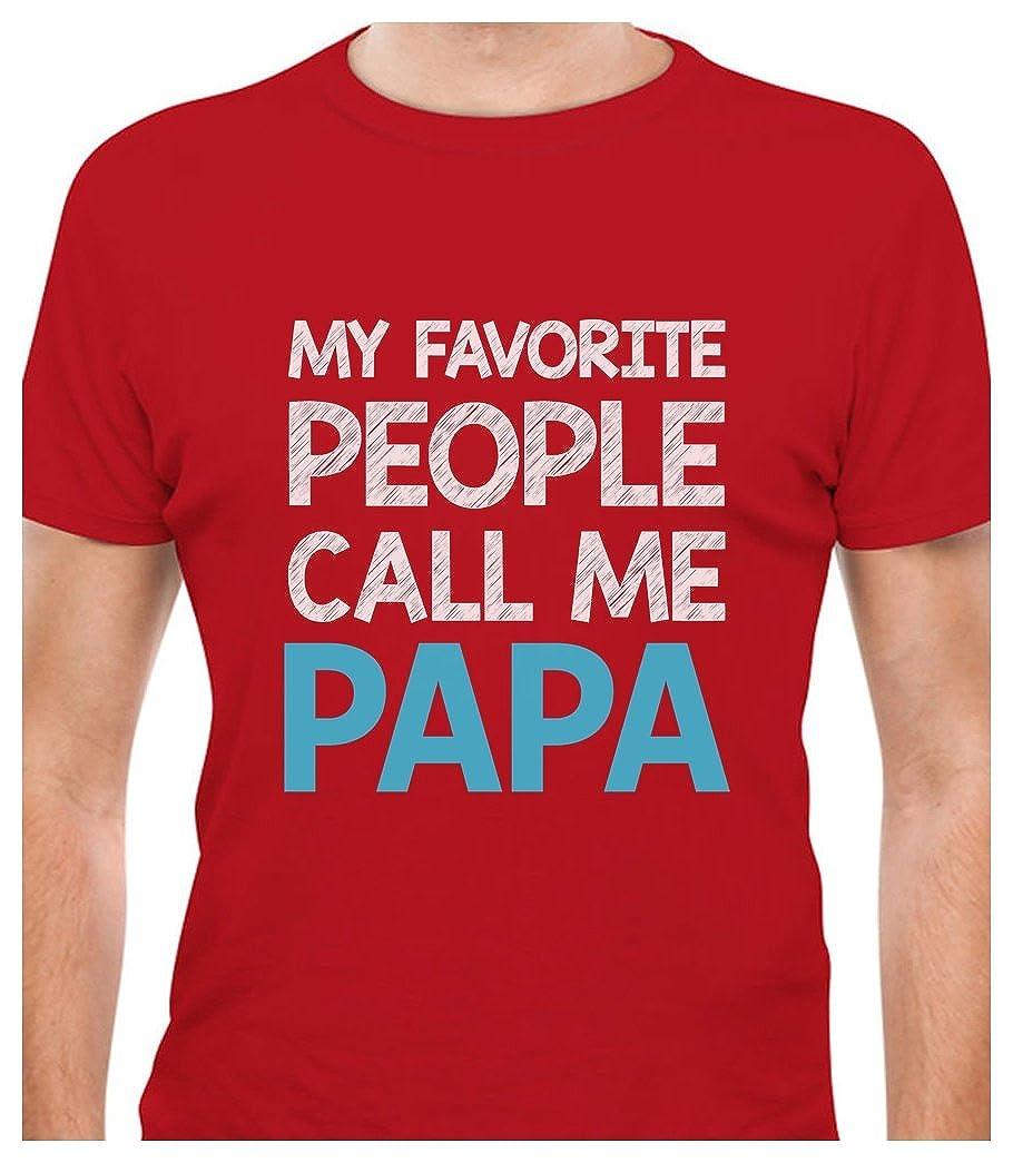 TeeStars - My Favorite People Call Me PAPA - Best Gift for Grandpa T-Shirt GM03M0gW