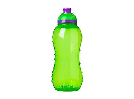Sistema Hydrate Twist n Sip - Botella de plastico, 330 ml, 1 unidad [colores surtidos]: Amazon.es: Hogar
