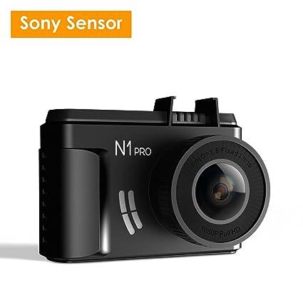 "Vantrue N1 Pro Mini 1080 P Dash Cam With Sony Imx323 Sensor, Full Hd 1920x1080 P 1.5"" Car Dash Camera Video Recorder W/Super Night Vision, Parking Mode, G Sensor & Collison Detection, Support 256 Gb Max by Vantrue"