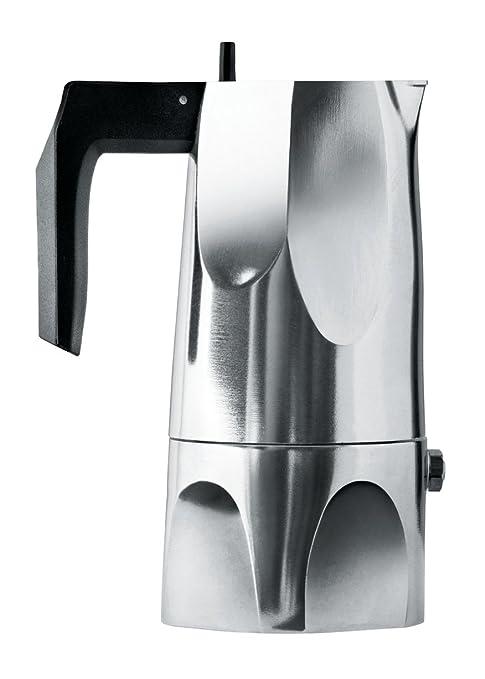 Alessi Ossidiana - Cafetera (Aluminio, asa de Resina ...