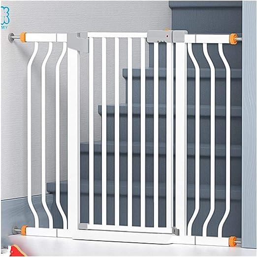 Barreras de puerta Puerta De Seguridad For Bebés For Barandilla De Escalera Valla De Chimenea Punzón Libre Barandilla Protectora Aislamiento De Perro De Mascota Barandilla Instalación Sin Punzón: Amazon.es: Hogar