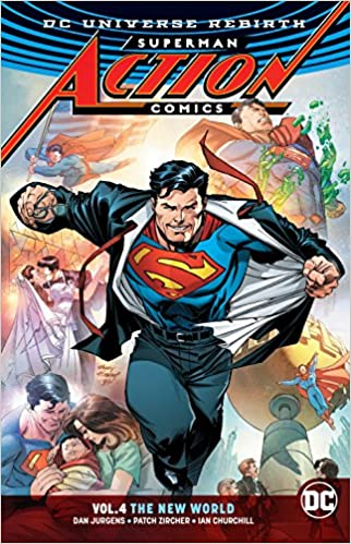 Image result for action comics vol. 4 new world order