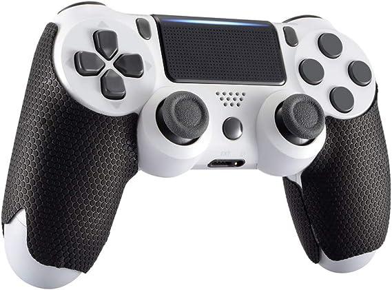 eXtremeRate Pegatina Antideslizante con Textura de Goma para Playstation 4 Agarre del Mando PS4 Slim PS4 Pro-Mejore el Agarre y la Comodidad: Amazon.es: Electrónica